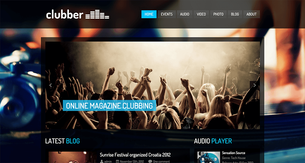 10 Best WordPress Themes for Bands & Musicians 2015 | Songhack